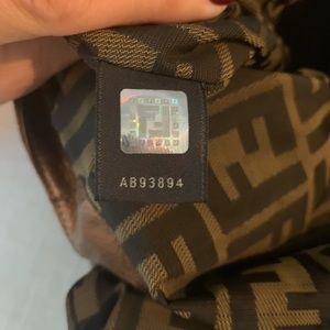 Fendi Bags - Fendi Bronze Fortuny Napa Leather Hologram Spy Bag